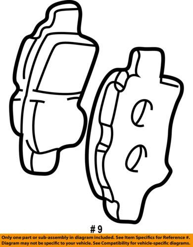 Scion Toyota Oem 05 10 Tc Brake Front Pads 0446521030