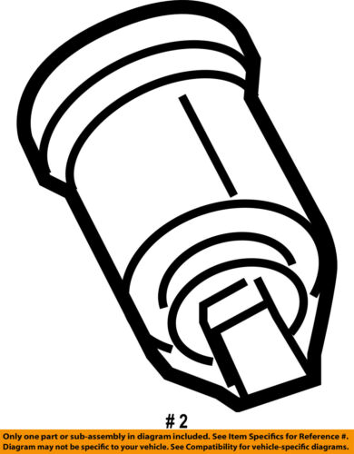 Ford Oem Ignition Lock Cylinder 5s4z11582bb