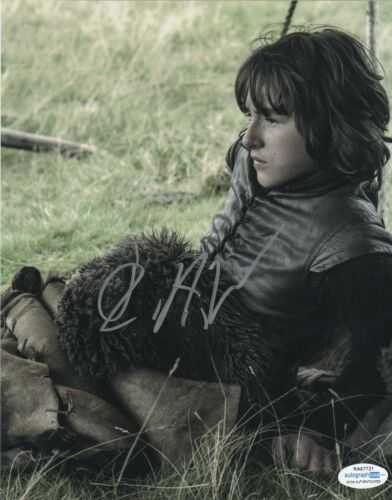 Isaac Hempstead Wright Game of Thrones Autographed Signed 8x10 Photo ACOA MA14