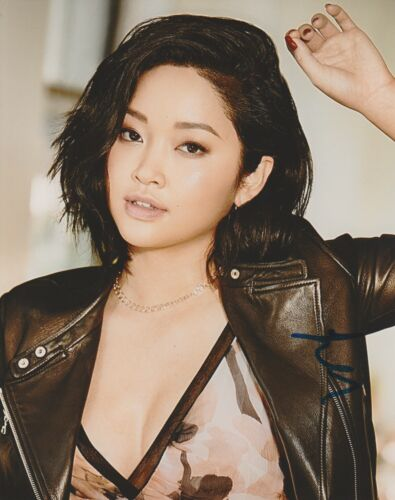 Lana Condor To All The Boys Autographed Signed 8x10 Photo COA #MR242