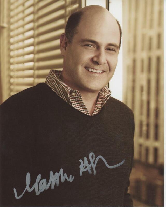 """Matthew Weiner """"Mad Men"""" Creator AUTOGRAPH Signed 8x10 Photo"""