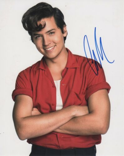 Cole Sprouse Riverdale Autographed Signed 8x10 Photo COA D8e