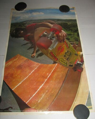 1978 Fieldmanagers Poster Scott Senatore Skateboard Madness Movie skater D