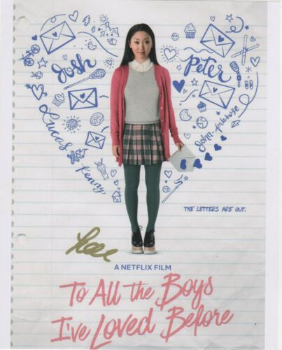 Lana Condor To All The Boys Autographed Signed 8x10 Photo COA #MR240