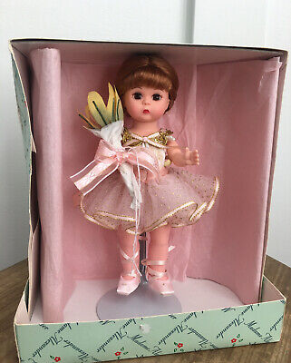 """Madame Alexander Russian Ballerina 8"""" Doll #36770 With Box & Stand"""