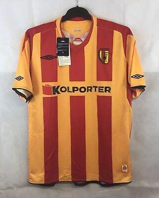 BNWT Korona Kielce Home Football Shirt 2008/09 Adults Large Umbro image