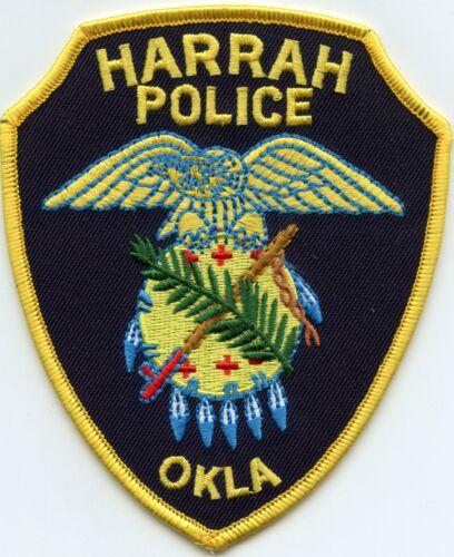 HARRAH OKLAHOMA OK POLICE PATCH