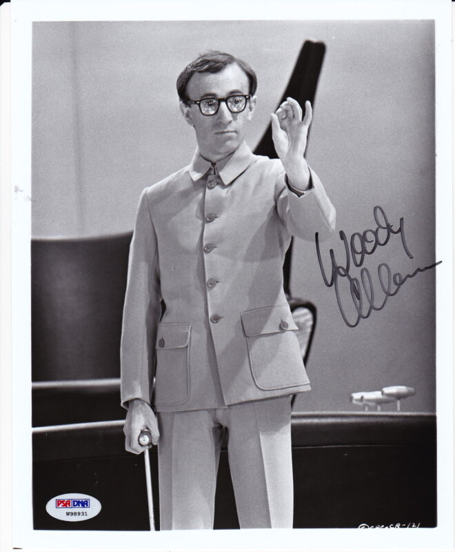 WOODY ALLEN signed autographed 8x10 photo PSA DNA COA Director Actor COMIC RARE