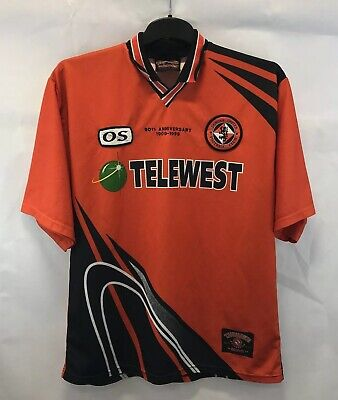 Dundee United 90th Anniversary Home Football Shirt 1998/99 Adults XL OS image