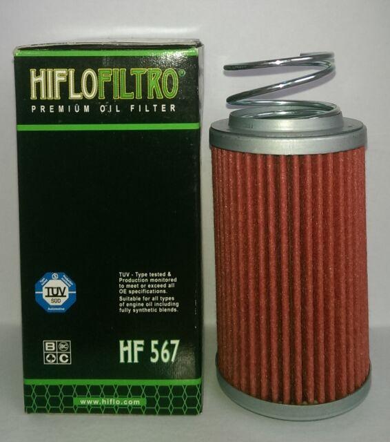 MV Agusta Brutale 1090 / R / RR (2010 to 2016) HifloFiltro Oil Filter (HF567)