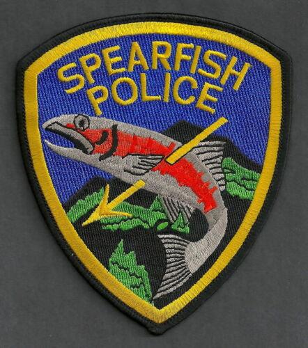 SPEARFISH SOUTH DAKOTA POLICE SHOULDER PATCH