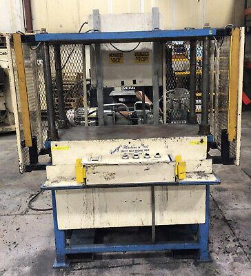 Trim Press 80 Gal Hydraulic Power Unit 48x22x27.5 15hp 561taw