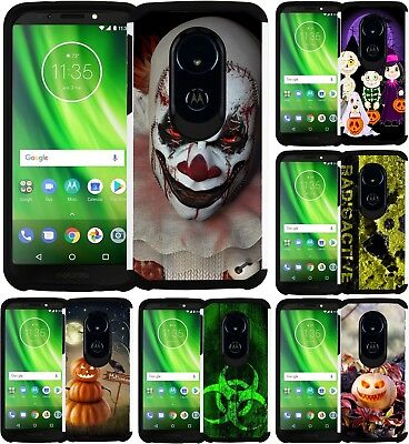 Play Halloween (For Motorola MOTO G6 PLAY / G6 FORGE Slim Hybrid Case Phone Cover Halloween)