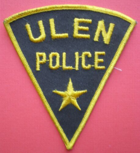 MN Minnesota ULEN Police VINTAGE patch