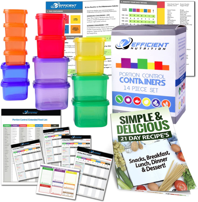 21 Day Fix Portion Control Containers Beachbody Meal Plan Diet Weight Loss Guide