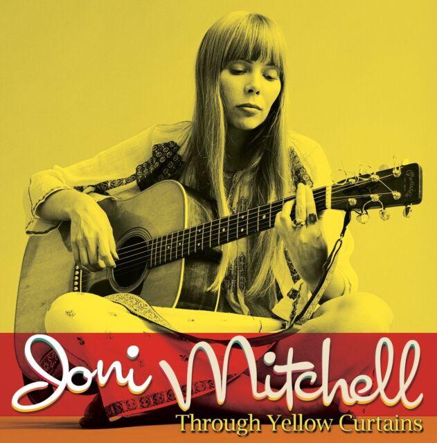 JONI MITCHELL - THROUGH YELLOW CURTAINS (THE SECOND 2 CD NEU