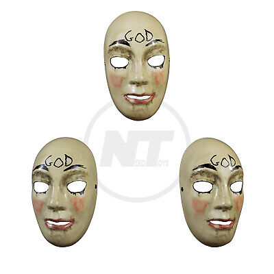 TRICK OR TREAT STUDIOS THE PURGE: ANARCHY GOD MASK IN