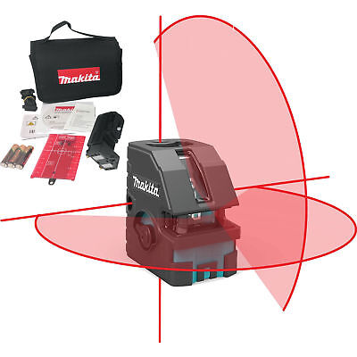 Makita Sk103pz Self-leveling Combination Cross-linepoint Laser Set New
