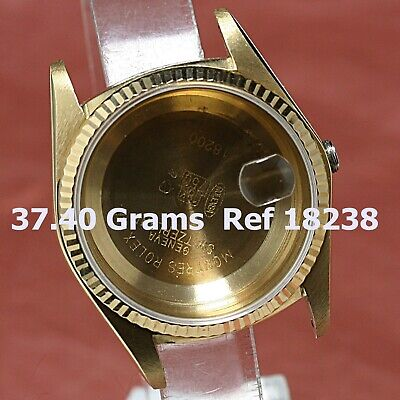 Custom Made After Market 18K Yellow Gold DAY-DATE 18238 DOUBLE QUICK SET  CASE &