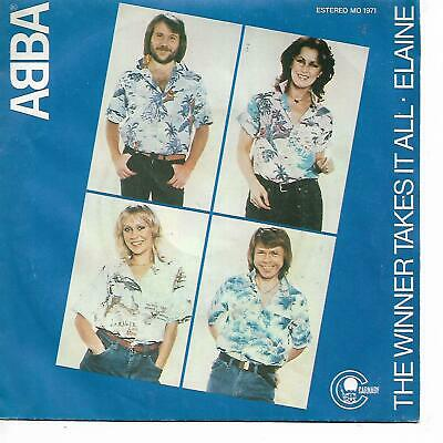 "ABBA 7""PS Spain 1980 The winner takes it all"