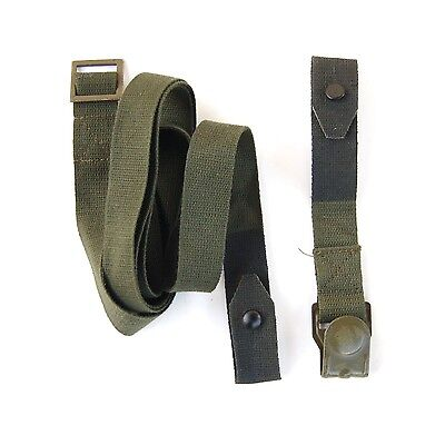 WWII M38 German Gas Cantister Strap Set