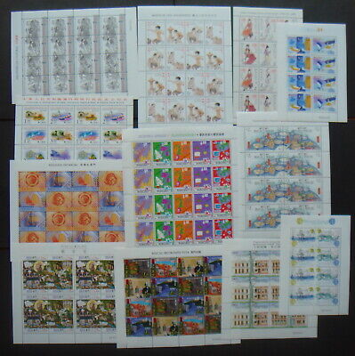 Macau 12 MNH mint Sheets/Sheetlets
