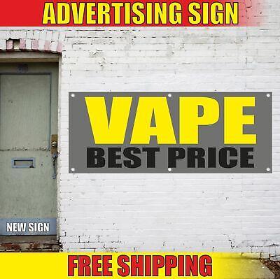 VAPE BEST PRICE Advertising Banner Vinyl Mesh Decal Sign SMOKE E-CIGS SHOP