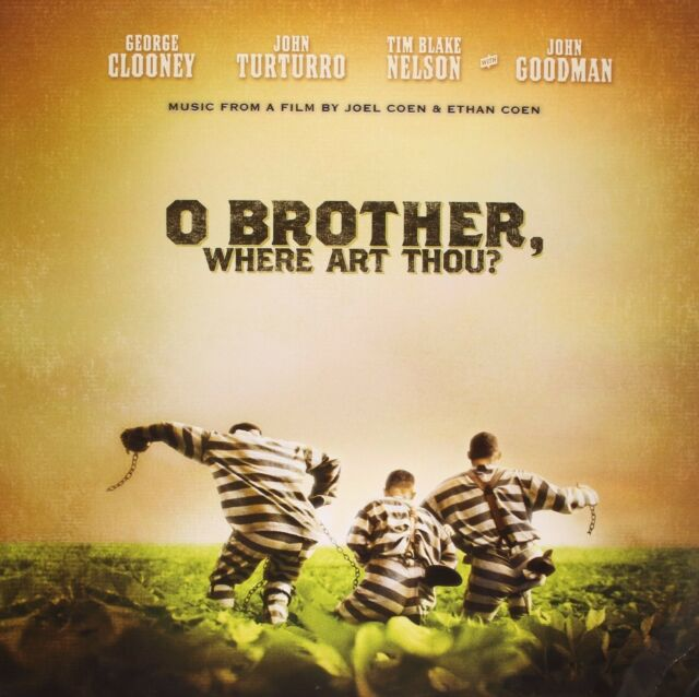 OST - O BROTHER,WHERE ART THOU?  2 VINYL LP 19 TRACKS SOUNDTRACK/FILMMUSIK  NEU