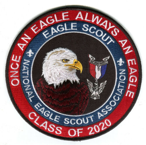 Class of 2020 Eagle Scout extra large patch