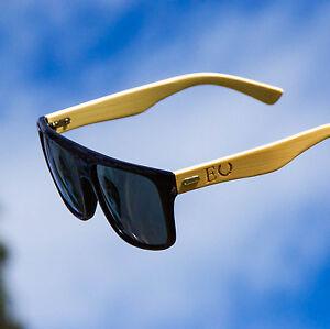 ECHT Smoke Sunglasses Vintage Retro Mens Wayfarer Shades Frame Glasses Eyewear