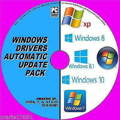 BEST WINDOWS DRIVER UPDATES DVD XP VISTA 7 8 &10 INSTALL/UPDATE/REPAIR