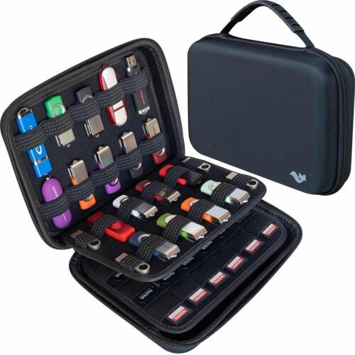 Electronic Accessories Travel Case for Hard Drive, Memory Card/SD Card/USB Pen