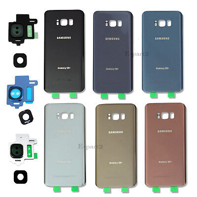 OEM Battery Cover Glass Housing Back Door + Tape For Samsung Galaxy S8 / S8 Plus ()