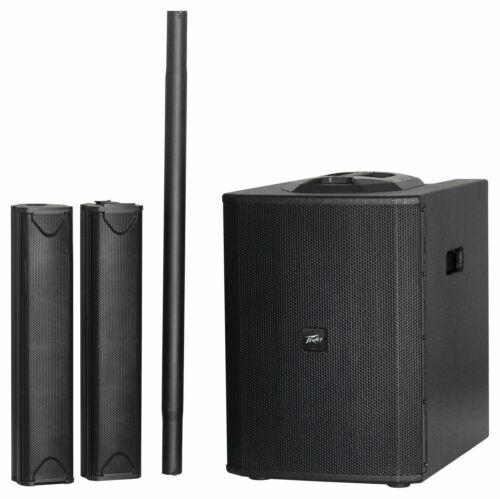 PEAVEY LN1263 Column Array Portable PA System & BT iOS APP Controllable Mixer