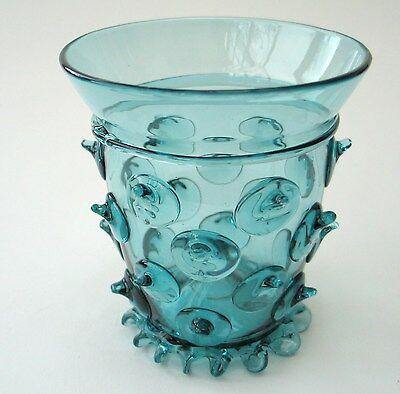 Waldglas Böhmen   Exklusive hochwertige  Handarbeit  Replika Krautstrunk