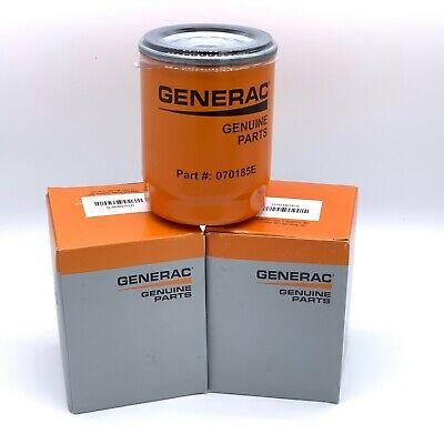 3 Pack- Generac- Oil Filter Part 070185e 070185es
