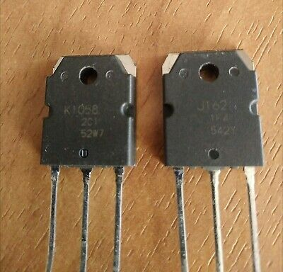 2sk1058 2sj162 Lateral Silicon Np Channel Mos Fet 1 Pair 2 Transistors