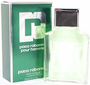 PACO RABANNE AFTER SHAVE LOTION 6.7 OZ POUR HOMME & NEW IN A BOX