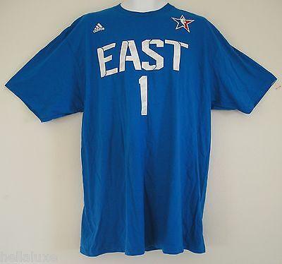 Adidas Chicago Bulls DERRICK ROSE NBA ALL STAR Jersey-T SHIRT Basketball~Mens XL