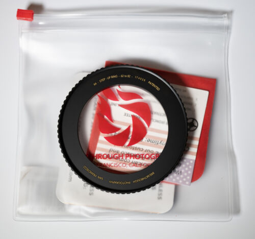 Breakthrough Photography 62mm to 82mm 62-82 Stepping Step Up ring filter adapter