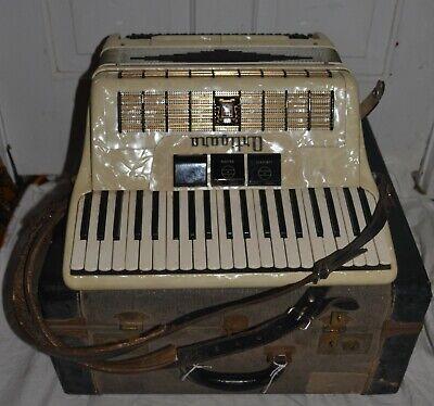 Vintage Ortigara Accordion 709/26 w/ Case