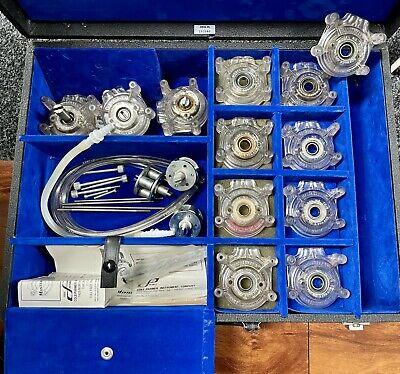 Cole Palmer Masterflex Peristaltic Pump Head 7013 7015 7016 7018 W Hard Case