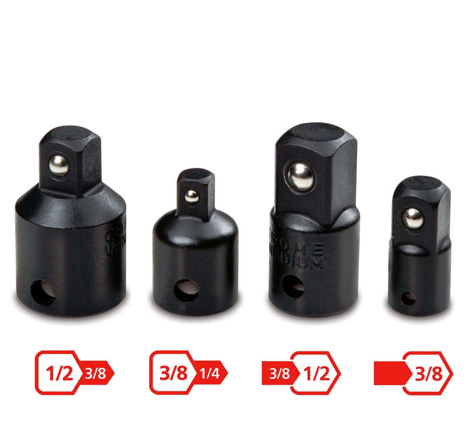 TEKTON 4957 4 pc Impact Adapter and Reducer Set NEW