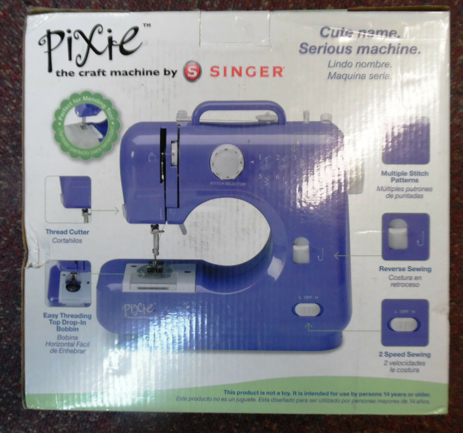 Pixie Electronic Sewing Machine Craft by Singer (one machine ...