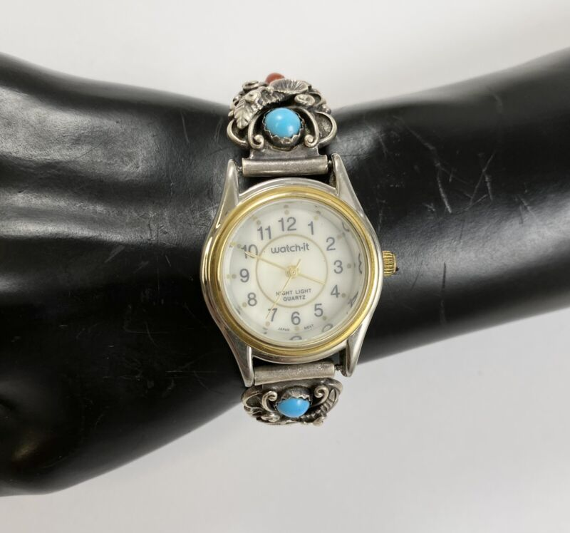 SouthWestern Sterling Silver Floral Watch Tips