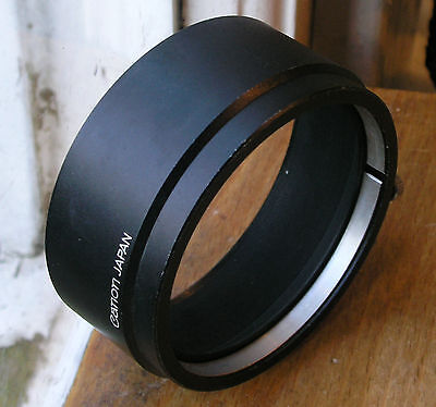 later Canon Lens hood  for FL 58mm 55mm  F 1.2  S-60  60mm clamp on over 58mm