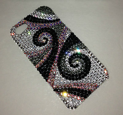 Crystal Swirly Bling Anyhow For IPHONE 10 X Made w/  100% Swarovski