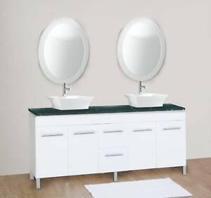 NEW ARRIVAL!!!!!!!!!!! Budget 1500mm White Vanity BGS1500/BGW1500