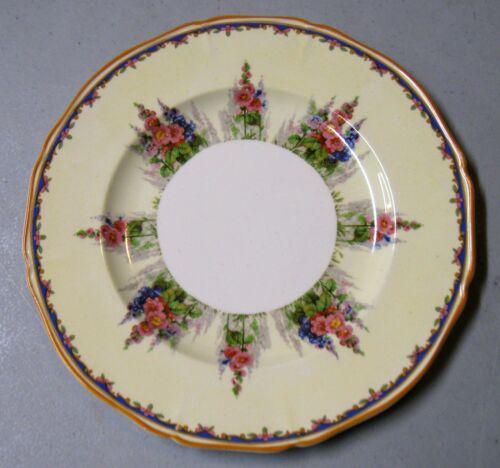 Alfred Meakin Hollyhock Salad Plate