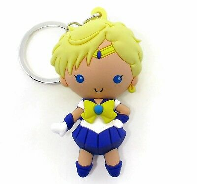 SAILOR MOON 3D Figural Keyring Series 2 SAILOR URANUS KEYCHAIN Opened Blind Bag
